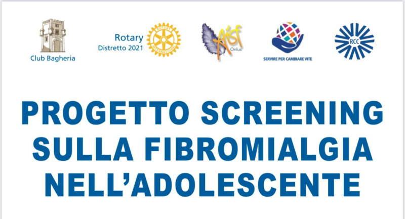 Progetto Screening sulla Fibromialgia nell'adolescente