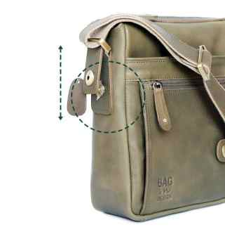 กระเป๋าปรับทรงให้สูงได้