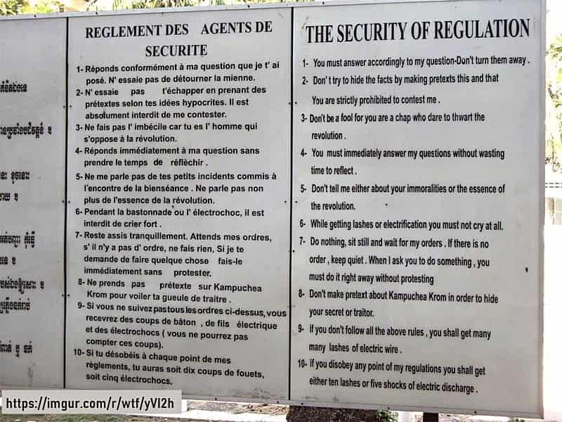 กฎเหล็ก 10 ข้อ คุกตวลสเลง