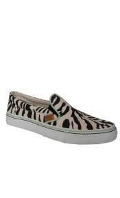Pepe jeans Slip-on Γυναικεία Παπούτσια PLS30147 Ζέβρα