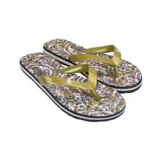 Desigual Γυναικείες Παντόφλες FLIP FLOP SAVE THE QUEEN Χρυσό Desigual FLIP FLOP SAVE THE QUEEN Χρυσό