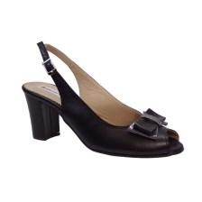 Πετρετζίκης shoes Γυναικεία Παπούτσια Δερμάτινα 85 Μαύρο Πετρετζίκης shoes 85 Μ