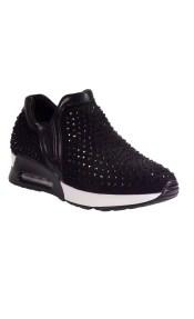 Bagiota Shoes Γυναικεία Παπούτσια Sneakers 21202 Μαύρο