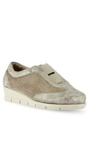 PAREX Γυναικεία Παπούτσια Sneakers Ανατομικά 10719001.P Πλατίνα-Χρυσό