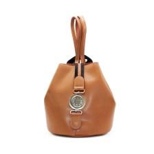 FRNC FRANCESCO Τσάντα Γυναικεία Πλάτης-Backpack 562 Ταμπά Δέρμα