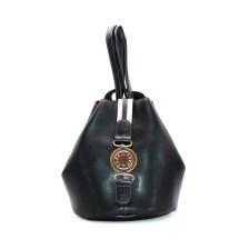 FRNC FRANCESCO Τσάντα Γυναικεία Πλάτης-Backpack 562 Μαύρο Δέρμα