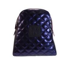 FRNC FRANCESCO Τσάντα Γυναικεία Πλάτης-Backpack 1202 Μπλέ Καπιτονέ