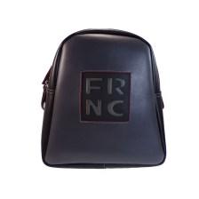 FRNC FRANCESCO Τσάντα Γυναικεία Πλάτης-Backpack 1202 Γκρί Δέρμα