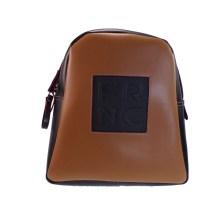 FRNC FRANCESCO Τσάντα Γυναικεία Πλάτης-Backpack 1202 Ταμπά Δέρμα