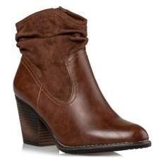 Miss NV Γυναικεία Παπούτσια Μποτάκια V42-10811-28 Καφέ