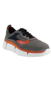WOW bY kricket Γυναικεία Παπούτσια Sneakers 0300 Γκρί Δέρμα