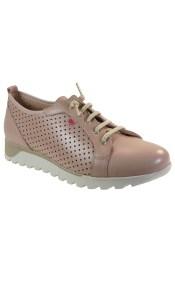 PEPE MENARGUES SHOES Sneakers Γυναικεία Παπούτσια 3010 Nude Δέρμα