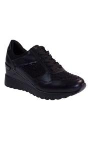 Bagiota Shoes Γυναικεία Παπούτσια Sneakers Αθλητικά 17927518-1 Μαύρο