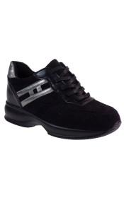 Bagiota Shoes Γυναικεία Παπούτσια Sneakers Αθλητικά H-8977 Μαύρο