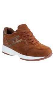 Bagiota Shoes Γυναικεία Παπούτσια Sneakers Αθλητικά H-8977 Κάμελ