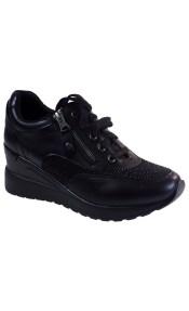 Bagiota Shoes Γυναικεία Παπούτσια Sneakers Αθλητικά 17927J23 Μαύρο