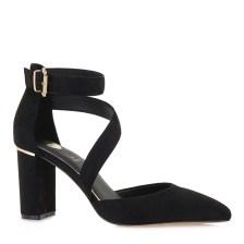 Exe Shoes Γυναικείες Γόβες 712-700 LESLIE-710 Μαύρο Καστόρι L17007124004