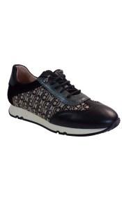 Hispanitas Γυναικεία Sneakers Αθλητικό HI00610 Μαύρο Δέρμα