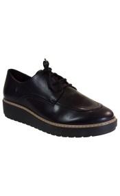 Katia Shoes Γυναικεία Παπούτσια Oxford 2-3 Μαύρο