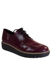 Katia Shoes Γυναικεία Παπούτσια Oxford 2-3 Μπορντώ
