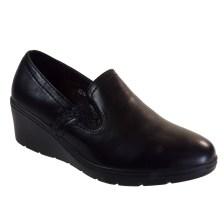 Bagiota shoes Γυναικεία Παπούτσια Μοκασίνια ZS16-6 Μαύρο