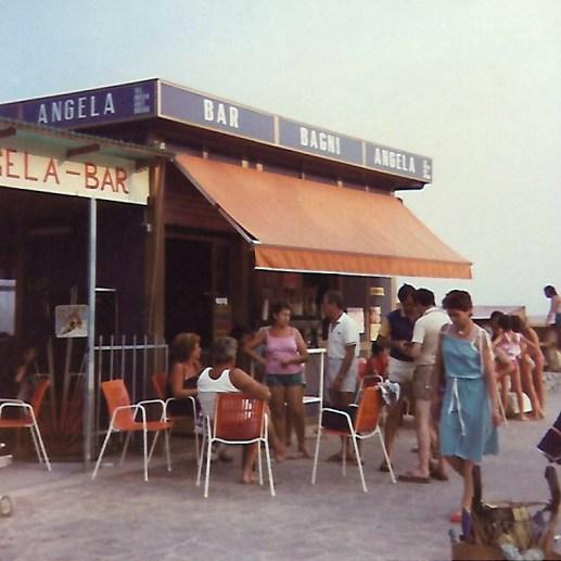 Bagni Angela tra gli anni 80 e 90