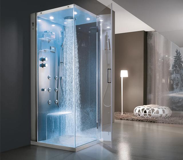 Cabina doccia multifunzione Tempo 90x80 cm