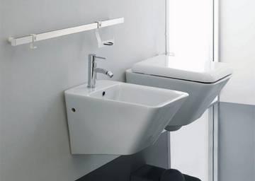 Maniglioni area wc con schienale  Ponte Giulio SpA