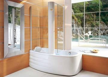 Vasca doccia combinata Aulica Compact Twin  Jacuzzi