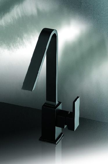 Miscelatore lavabo nero opaco Collezione PLP