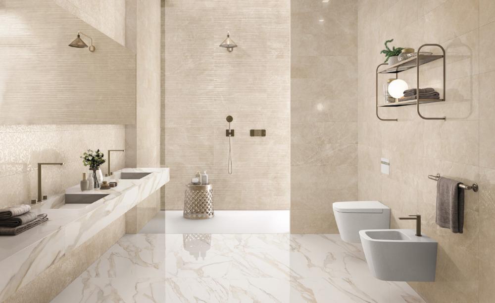 Pavimento e rivestimento effetto marmo Purity of Marble
