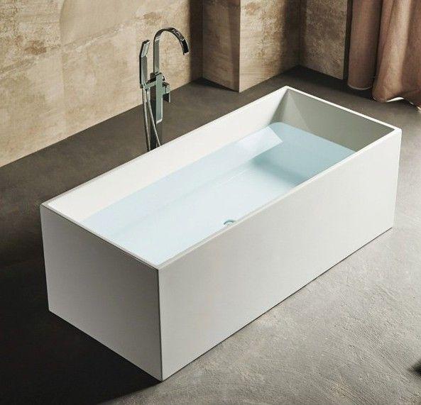 Vasca da bagno vs071 vs072 moderna per centro stanza freestanding