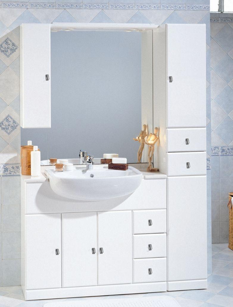 Mobile Bagno Cleo cm 10030 con lavabo semincasso bh