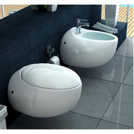 Sanitari Bagno moderni in Ceramica Bianchi Sospesi go