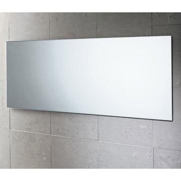 specchiera da bagno moderno filo muro reversibile 100x40