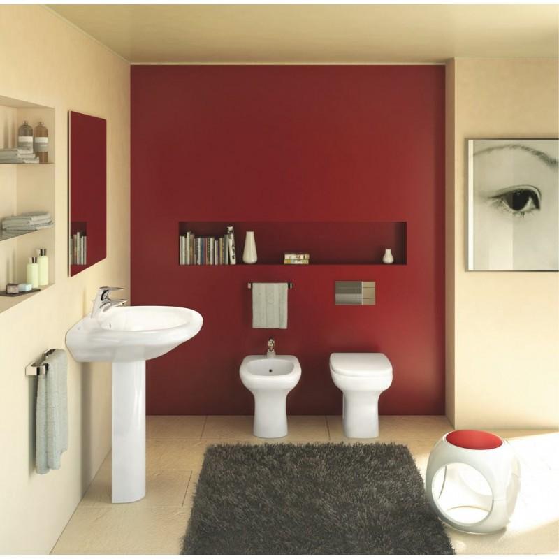 Ideal Standard serie Tesi Classic wc scarico senza sedile