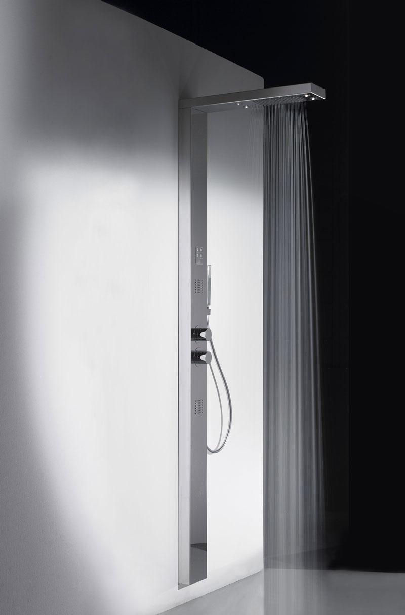 Colonna doccia pavimento termostatica Mon Amour