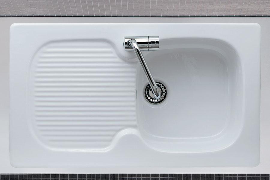 Lavello cucina incasso ceramica GENIUS 86