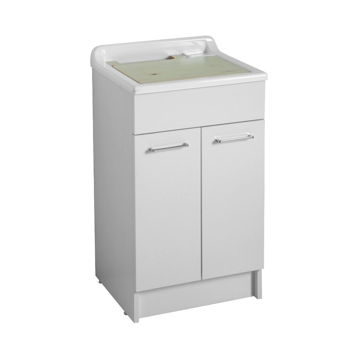 Lavatoio con mobile da lavanderia 50x45X86h Swash