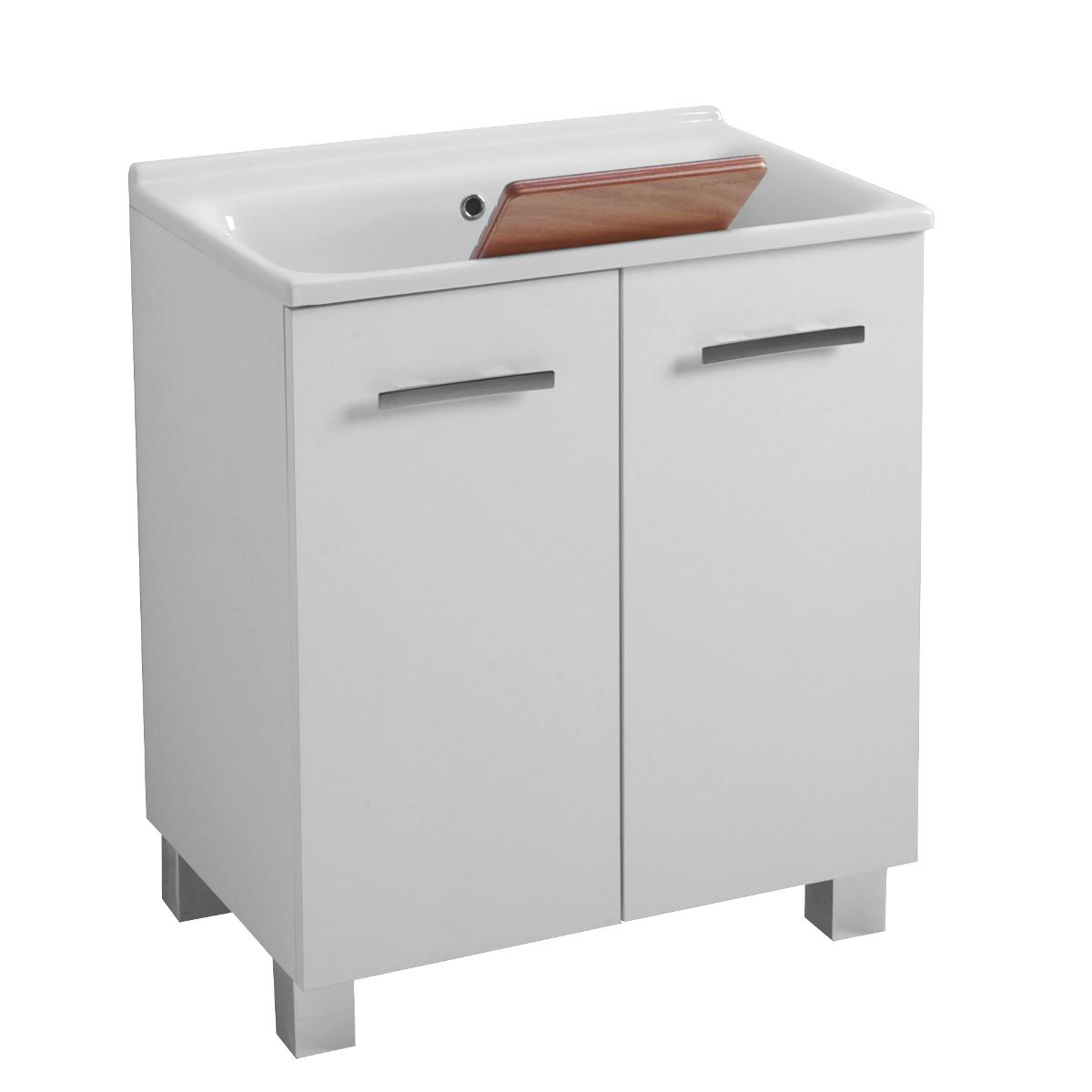 Mobile da lavanderia con lavatoio 75x50x86 Large
