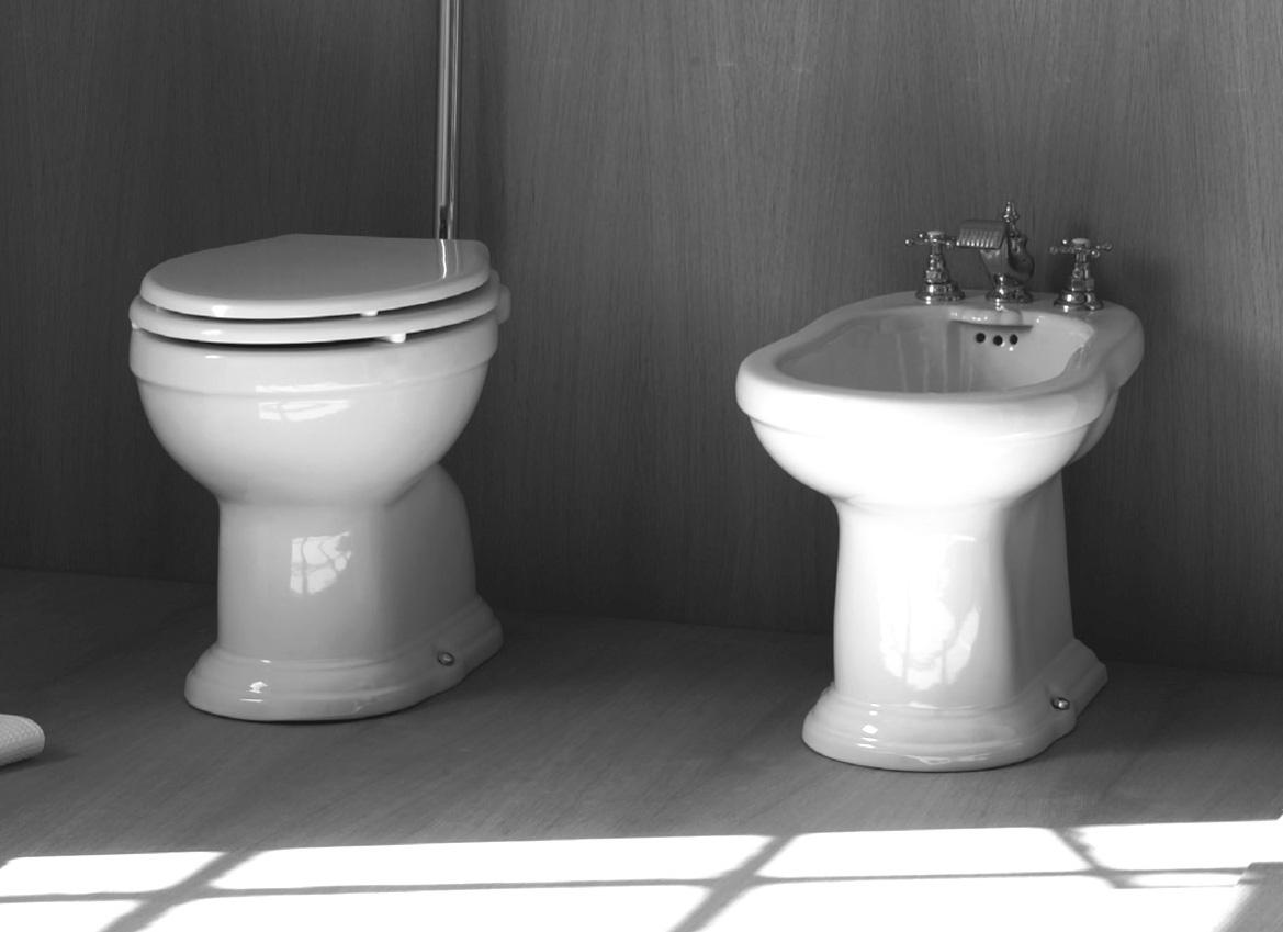 Sanitari bagno in stile antico Regent