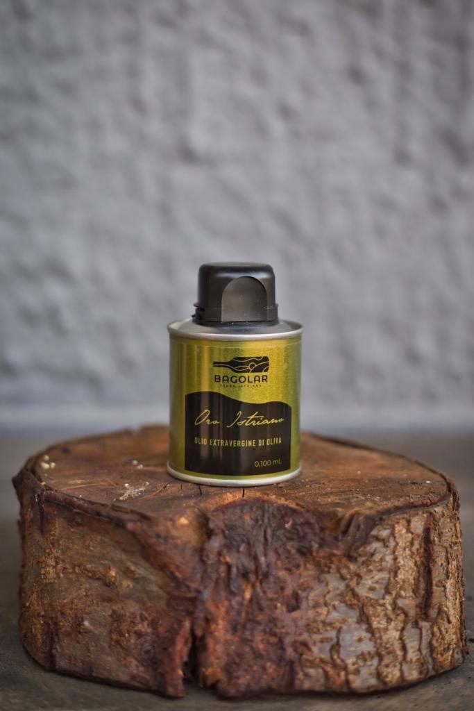Bagolar - Olio Evo - Latta 0.1 ml gold