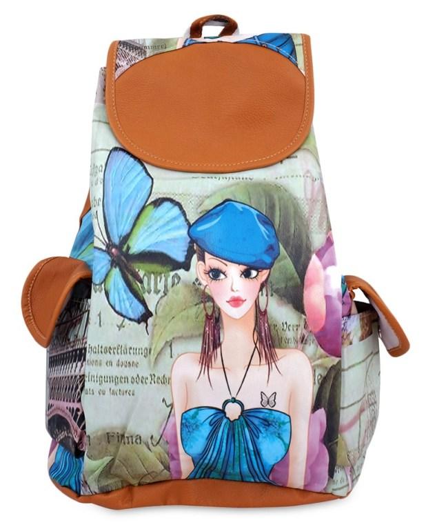 Limeroad Girl-Print Backpack