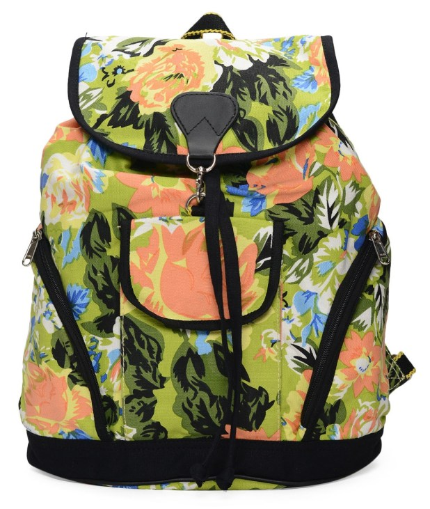 Limeroad Green Backpack