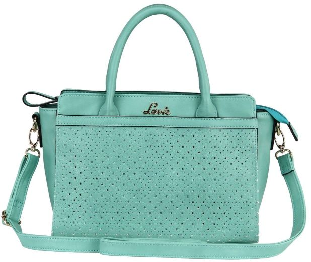 BagsLounge LAVIE BUTTERSCOTCH SM TOTE JADE-TOMATO-LILAC