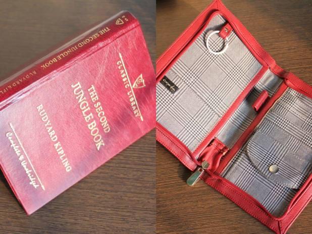 Carpe Diem Book Passport Holder