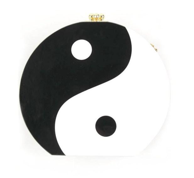 The Red Box Yin Yang Clutch