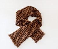 reduced fendi wool scarves knitting pattern 137ff ea452