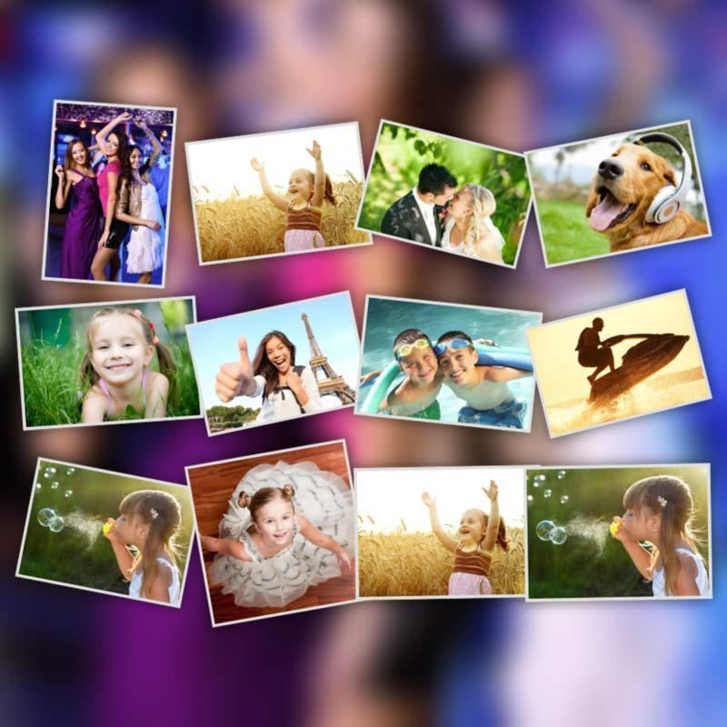 Free Photo Collage Download Poster. Make Photo Collage Online With Bags Of Love