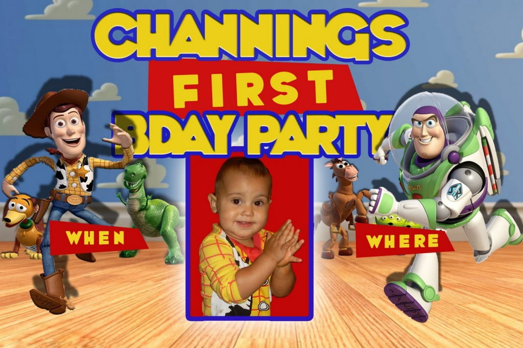 toy story birthday invitations free